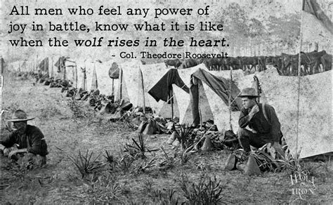 famous quotes the wolf rises in the heart col theodore