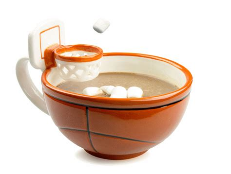 Basketball Mug: Mug With A Hoop   Cooking Gizmos