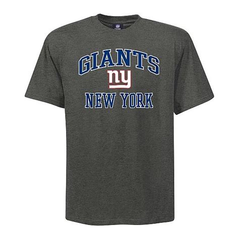 New York 36 Big Size Tshirt new york giants big soul t shirt grey