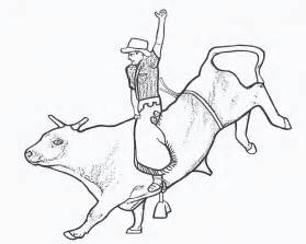 rodeo coloring pages rodeo coloring pages bull rider color page by