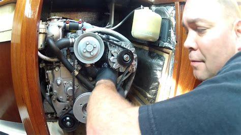 sailboat engine maintenance   yanmar gmf diesel lets   oil change youtube