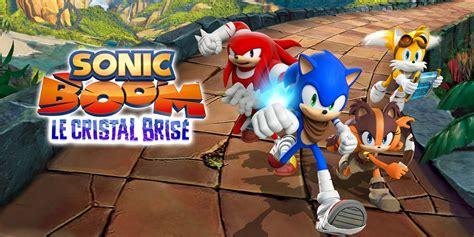 Kaset 3ds Sonic Boom sonic boom le cristal bris 233 nintendo 3ds jeux nintendo