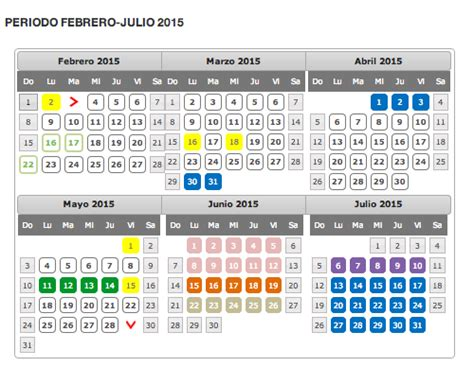 Calendario Uv 2015 Calendario Escolar 2015 Direcci 243 N General 193 Rea