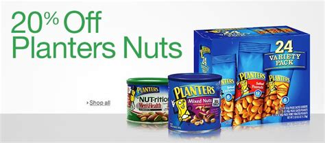Planters Nuts Gluten Free by Snack Foods Grocery Gourmet Food