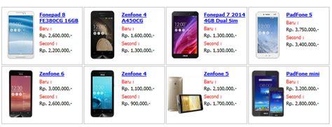 daftar harga tablet asus di indonesia februari 2015 daftar harga smartphone hp tablet asus terupdate terbaru