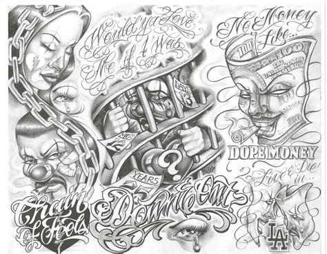 chicano tattoo designs pin by mb text on design chicano