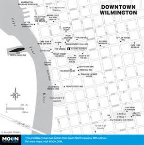 wilmington carolina map printable travel maps of carolina moon travel guides