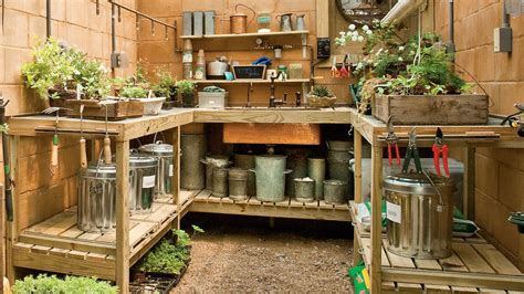organize  garden shed southern living