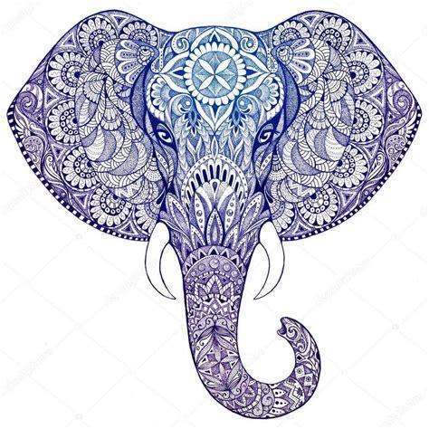 black and white elephant pattern elephant mandala symbolism the yoga mandala store