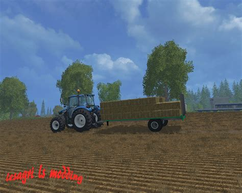 Small Ls by Trailers For Small Bales Trailer V 2 0 Fs 15 Mod