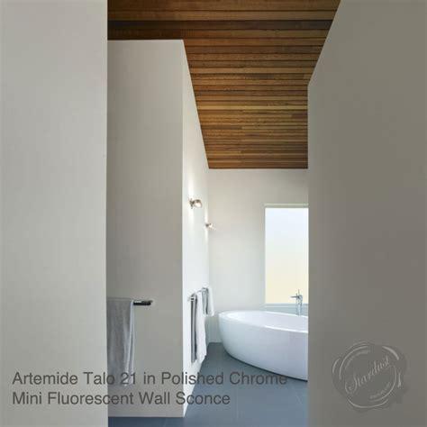 Artemide Bathroom Lighting Artemide Talo 21 Mini Fluorescent Wall Sconce Stardust