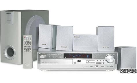 Dvd Home Theater Panasonic panasonic sc ht75 dvd home theater system at crutchfield