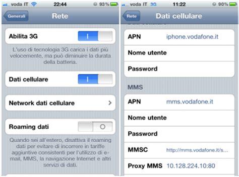 apn erg mobile vodafone italia configurazione apn android iphone how to