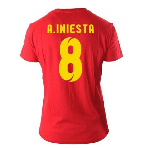 Kaos T Shirt Andres Iniesta Iniesta iniesta nike t shirt mens l