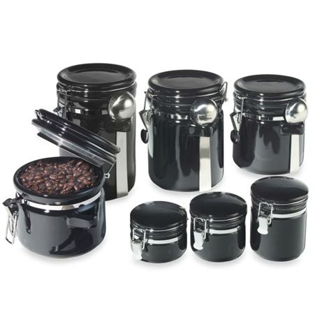 airtight kitchen canisters 7 ceramic airtight canister set sweet home