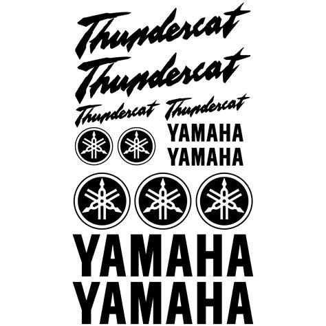 Yamaha Thundercat Aufkleber wandtattoos folies yamaha thundercat aufkleber set
