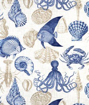 sea life upholstery fabric richloom outdoor sea life marine fabric