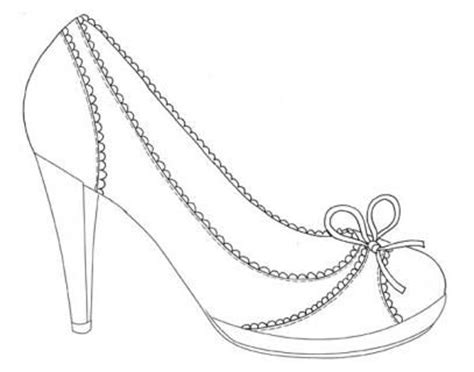 high heel shoes coloring pages bing images | zb the shoe