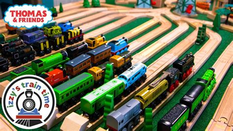 thomas  friends rail yard fun toy trains  kids