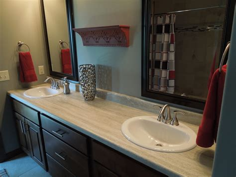 Ideas For Bathroom Countertops Bathroom Countertop Laminate
