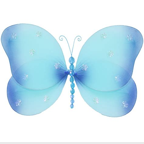 butterfly decorations butterfly hanging wall decoration blue butterflies baby