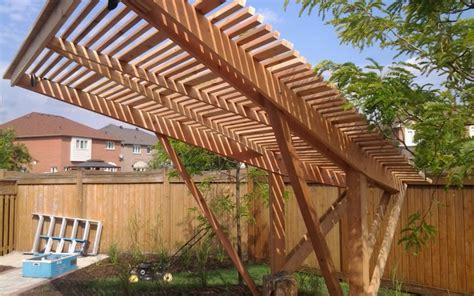 cantilever pergola plans cantilevered pergola plans 187 woodworktips