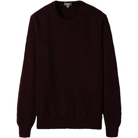 Uniqlo Sweatshirt Vintage Sweater 1 uniqlo crew neck sweater in purple for wine lyst