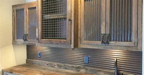 corrugated metal backsplash reclaimed corrugated antique barn tin galvanized tin vintage building supplies wainscoting