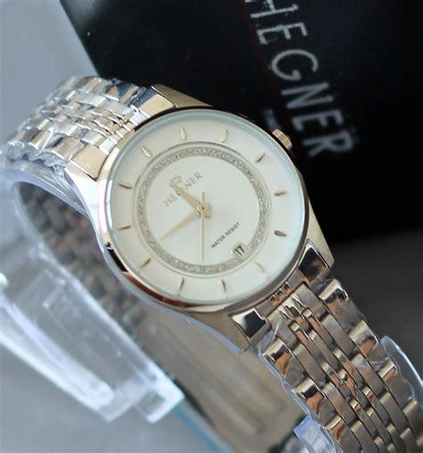 Hegner 1599 Gold White Jam Tangan Original buy original 100 hegner jam tangan hegner wanita pria garansi showroom resmi deals
