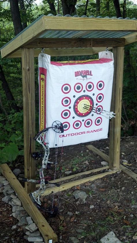 backyard archery target diy archery target stand pictures to pin on pinterest pinsdaddy