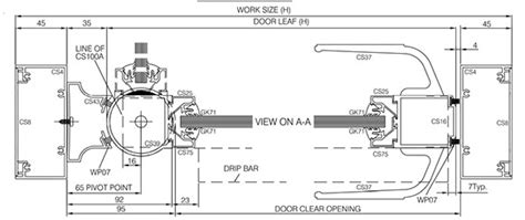 swing door plan manual aluminium swing doors