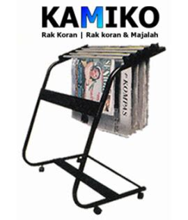 Rak Koran Besi rak koran kamiko 610 kddesain toko kursi