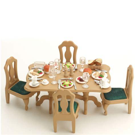 sylvanian families dining room set sylvanian families dining room set toys thehut