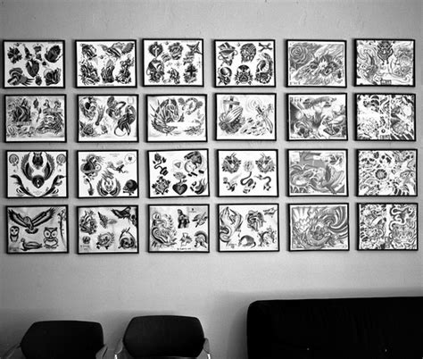 tattoo parlor vs tattoo shop jonathan valin street scenes in black and white mostly