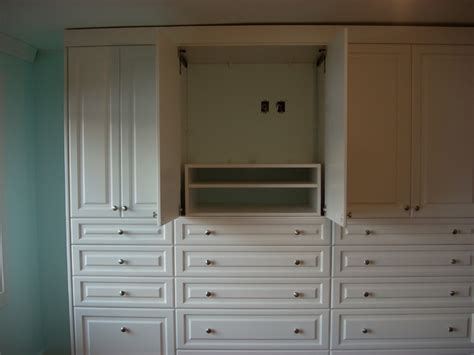 Built In Wall Closets by Large Built In Wall Unit Traditional Closet