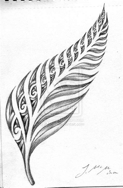 new zealand tribal tattoo designs silver fern maori search ink