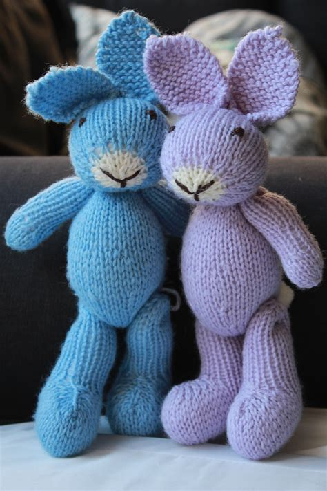 knitted rabbit image gallery knitted bunny