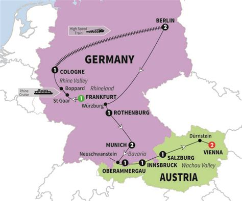 map germany austria journey through germany austria the sounds of bach and