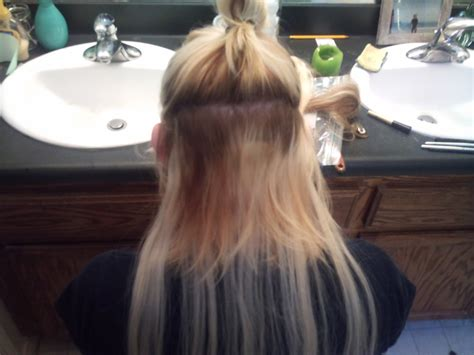 tips  tricks   put  hair extension  clips