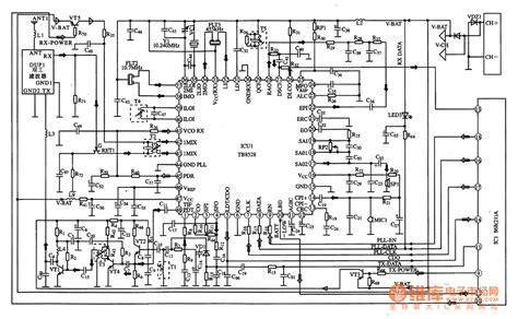 rf integrated circuits tb8528 the communication rf compound integrated circuit lifier circuit circuit diagram