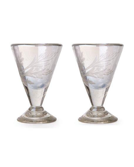 pepita pattern history slant collections jewel glasses 4 piece set