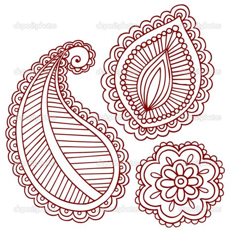 henna style flower tattoos big flower henna design on