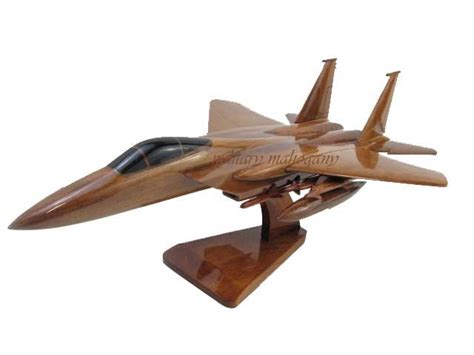 Desk Fighter by 21 Best Civilian Aircraft Wood Models By Mahogany