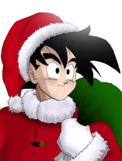 imagenes de navidad dragon ball z imagenes de goku en navidad para facebook descargar