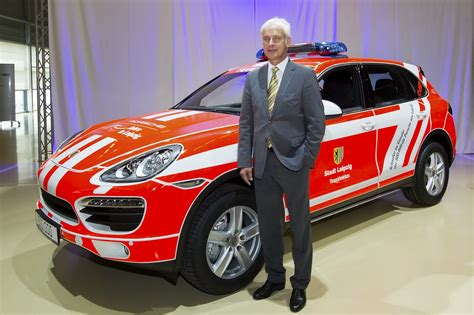 Werkfeuerwehr Porsche Leipzig by Porsche S Leipzig Factory Builds 500 000th Vehicle A