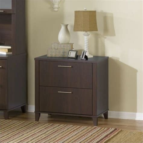 bush somerset lateral file bush somerset 2 lateral file in mocha