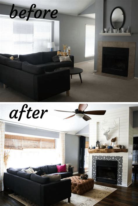 room renovation before and after our living room before after renovations