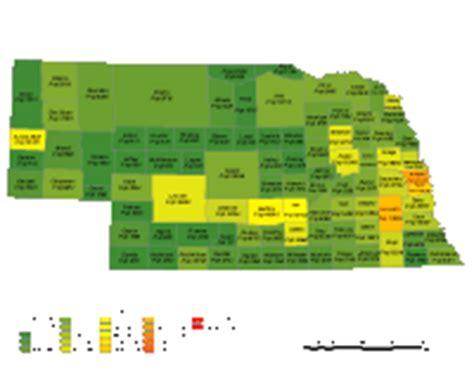 nebraska digital vector maps download editable