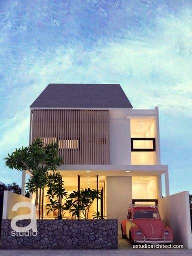 desain rumah open plan rumah diatas lahan 7 5x17m dengan open plan desain siap