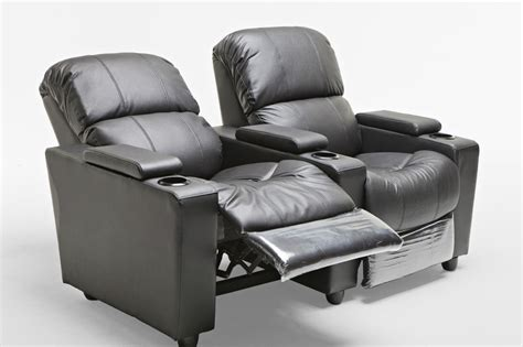 leather 2 seater recliner sophie leather 2 seater home theatre recliner sofa lounge